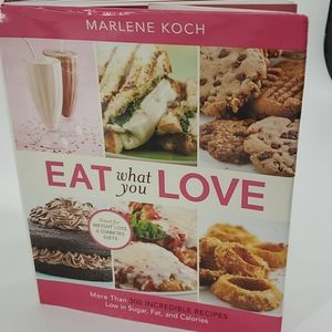 Eat what you love cookbook from QVC